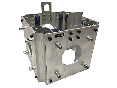 Square Box Truss 12 Inch Square Lighting Box Truss F34 Standard Sleeve Block Square Box Truss Ground Aluminum (Truss Sleeve)