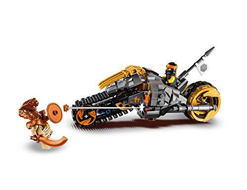 LegoNinjago70672 Coles Offroad-Bike, Bauset 3