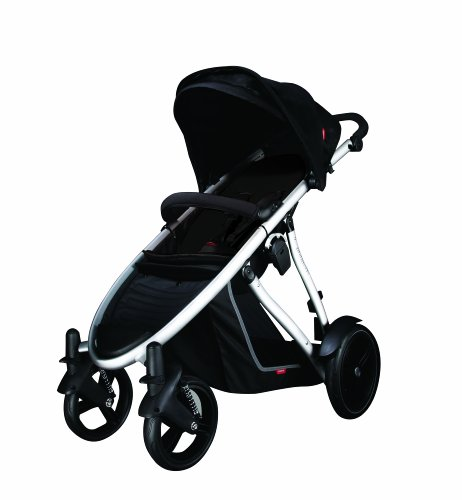 phil teds Verve Stroller, Black Discontinued by Manufacturer Discontinued by Manufacturer