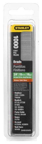 Stanley Brads - Stanley Swkbn075 3/4 Inch Brad Nails, Pack of 1000(Pack of 1000)