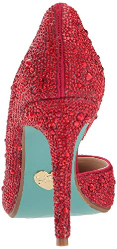 Johnson Pump Blue hazil Betsey Women's Sb by Red 7q6g7Sw