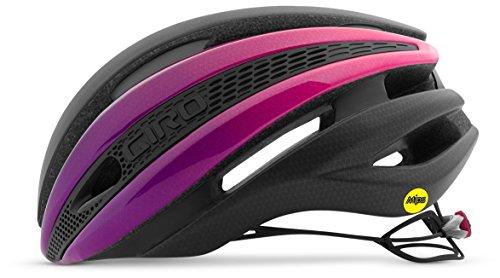 Cheap Giro Synthe MIPS Cycling Helmet – Matte Black/Bright Pink Large