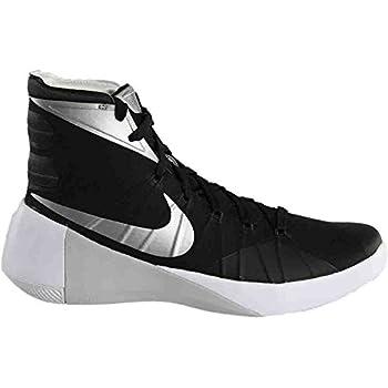 Nike Mens Hyperdunk 2015 Team Basketball Shoe (10.5 D(m) Us, Blackanthracitewhitemetallic Silver) 1
