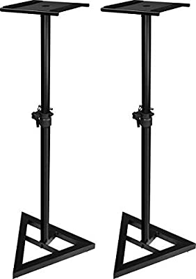 Ultimate Support JS-MS70 JamStands Series Studio Monitor Stands (Pair) from DJ Tech Pro USA, LLC