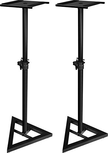 Ultimate Support JS-MS70 JamStands Series Studio Monitor Stands (Pair) (Renewed)