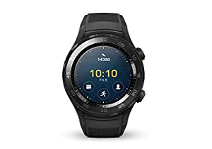 Huawei Watch 2 - Smartwatch compatible con Android e iOS (Wifi, Bluetooth, 4G) negro carbon
