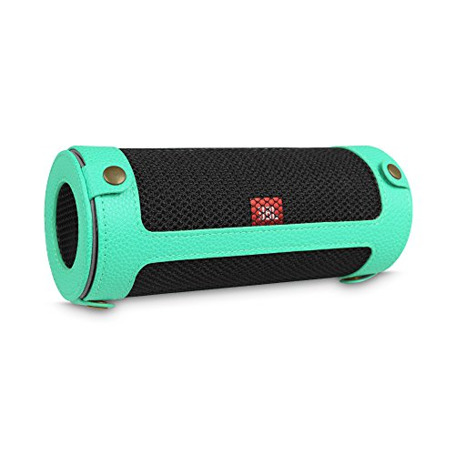 Water Resistant Silicone Bluetooth Speaker (Red) - 8