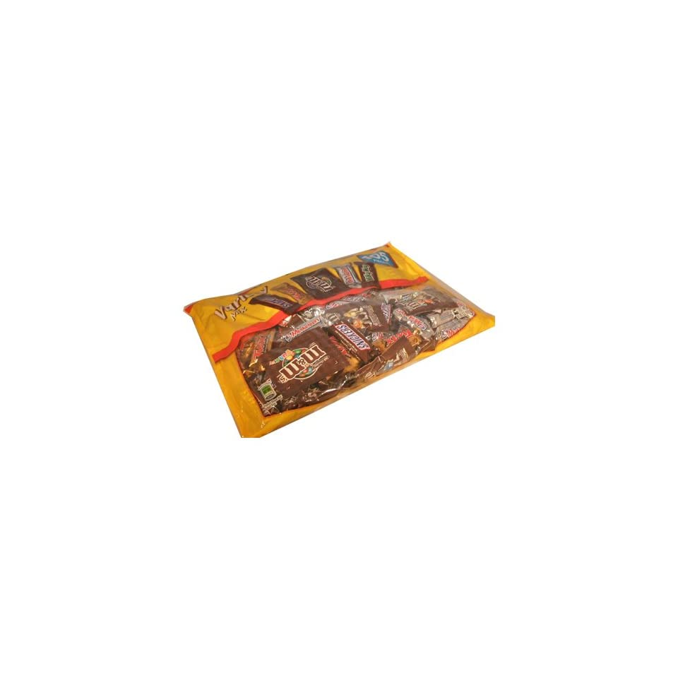 Master Foods Fun Size Halloween Candy Variety Pack 105 Piece Value Bag