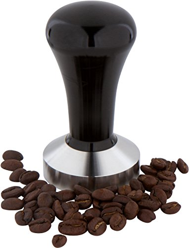 49mm Espresso Coffee Tamper with Flat Base - Stainless Steel by Trademark Innovations