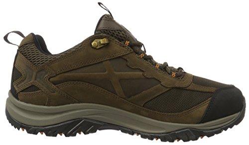 Columbia Terrebonne Outdry, Zapatillas de Senderismo para Hombre Marrón (Cordovan/ Bright Copper)