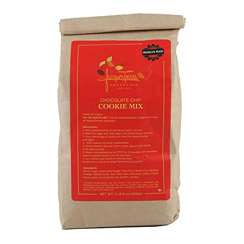 - Jacques Torres Chocolate Chocolate Chip Cookie Mix Net Wt. 2 lb (908g)