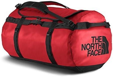 sélection premium e0396 135ec The North Face Base Camp Duffel, Sacs de sport grand format Mixte,  Multicolore (Tnf Red/Tnf Black), 132 L, XL