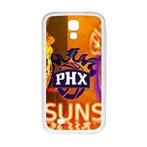 Phoenix Suns NBA White Phone Case for Samsung Galaxy S4 Case