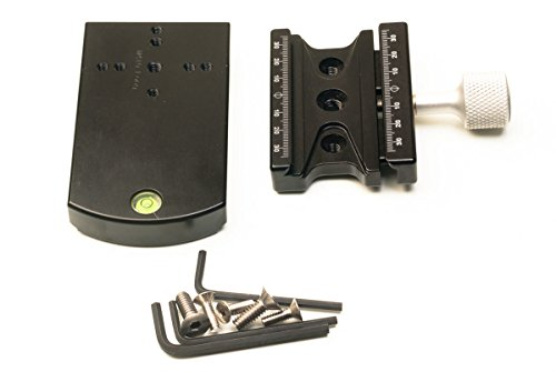 Hejnar Photo Extended Plate With F63 Clamp for 410 Gear Head - Made in U.S.A by Hejnar Photo (Image #1)'