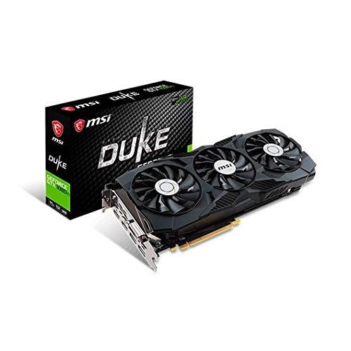MSI GTX 1080ti Duke 11 G OC Tarjeta gráfica NVIDIA PCI ...