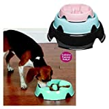 The Control Bowl for Dogs Size: Medium, Color: Blue Mist, My Pet Supplies