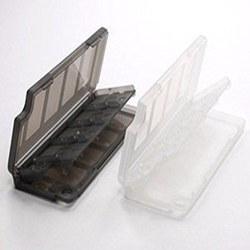 Vanki Clear & Gray Game/Memory Card protection hard case for sony PS Playstation Vita