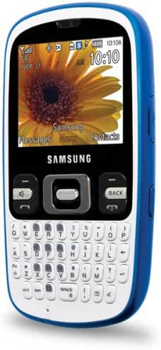 Open Mobile Samsung Freeform SCH-R350 White*QWERTY*CAMERA*Clean ESN!