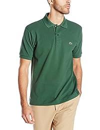 Men's Short Sleeve Pique L.12.12 Classic Fit Polo Shirt,...