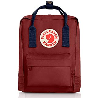 Fjallraven - Kanken Mini Classic Backpack for Everyday, Ox Red/Royal Blue (B0052LB7TA) | Amazon price tracker / tracking, Amazon price history charts, Amazon price watches, Amazon price drop alerts