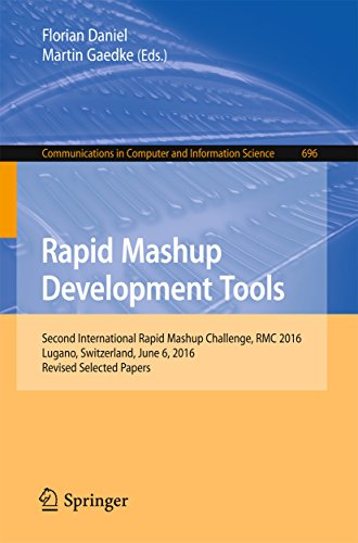 Rapid Mashup Development Tools: Second International Rapid Mashup Challenge, RMC 2016, Lugano, Switzerland, June 6, 2016, Revised Selected Papers (Communications in Computer and Information Science)