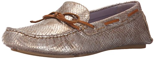 Johnston & Murphy Womens Maggie Camp Moccasin Champagne Metallic knT0uGvs