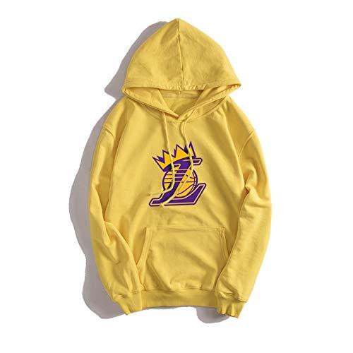 Yellow2 James Angeles Sudaderas Lakers Lebron Capucha Sudadera Los Con U7BZwZ