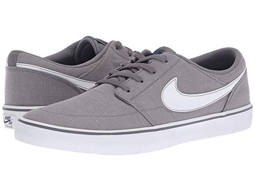 [NIKE(ナイキ)] メンズランニングシューズ?スニーカー?靴 Portmore II Solar Premium Canvas Gunsmoke/White/White 14 (32cm) D - Medium