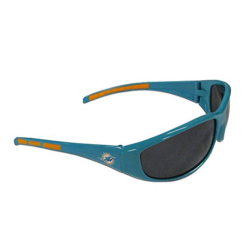 NFL Miami Dolphins Wrap Sunglasses