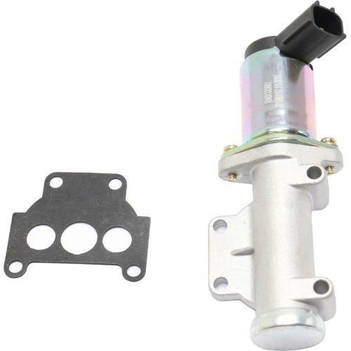 Nissan Xterra 00-04 w//Gasket 4 Cyl 2.4L Eng Idle Air Control Valve compatible with Frontier 98-04 3 Ports