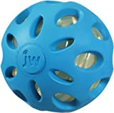 JW Pet Company Crackle Heads Crackle Ball Dog Toy, Large, all Colors (2 Pack)