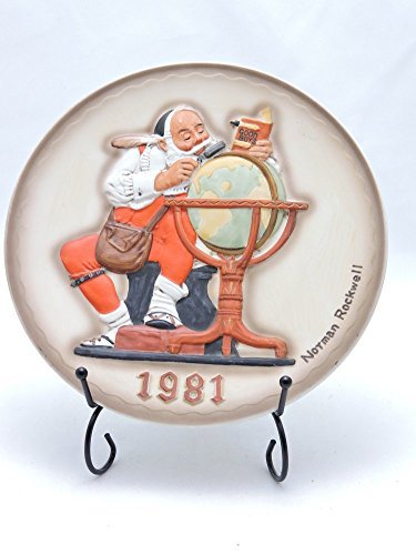 Norman Rockwell 2nd limited Edition 1981 Christmas Plate