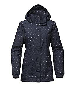 The North Face Womens Resolve Parka (Urban Navy Uncharted Print) (Small)