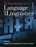 img - for An Introduction to Language and Linguistics book / textbook / text book