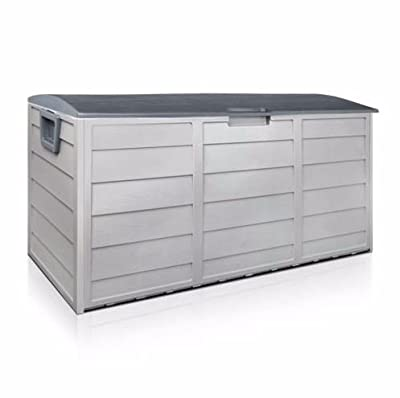 Outdoor Patio Deck Box All Weather Large Storage Cabinet Container Organizer