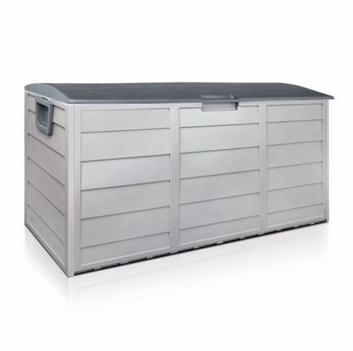 Outdoor Patio Deck Box All Weather Large Storage Cabinet Container Organizer (Patio Container Cushion Storage)