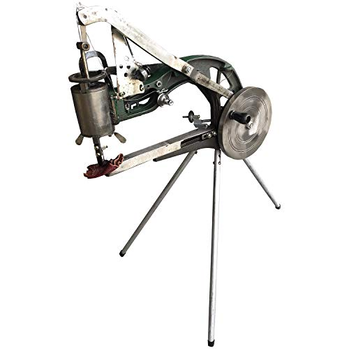 ColouredPeas Shoe Repair Hand Sewing Machine, Shoe Cobbler Machine with Nylon Line, Manual Mending for Shoes/Bags/Clothes/Quilts/Coats/Trousers