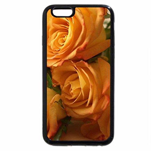 iPhone 6S Case, iPhone 6 Case (Black & White) - Fresh scent roses