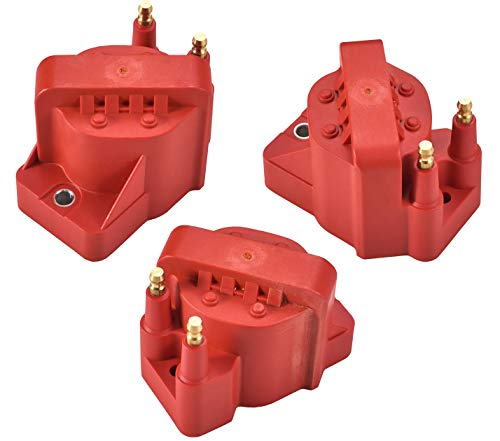 (Super High Energy Ignition Coil Pack of 3 for Buick Allure Century Chevy Impala S10 Cadillac Olds GMC Pontiac V6)