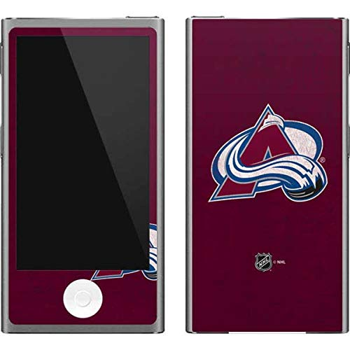 Skinit Colorado Avalanche Ipod Skin - Skinit NHL Colorado Avalanche iPod Nano (7th Gen&2012) Skin - Colorado Avalanche Distressed Design - Ultra Thin, Lightweight Vinyl Decal Protection