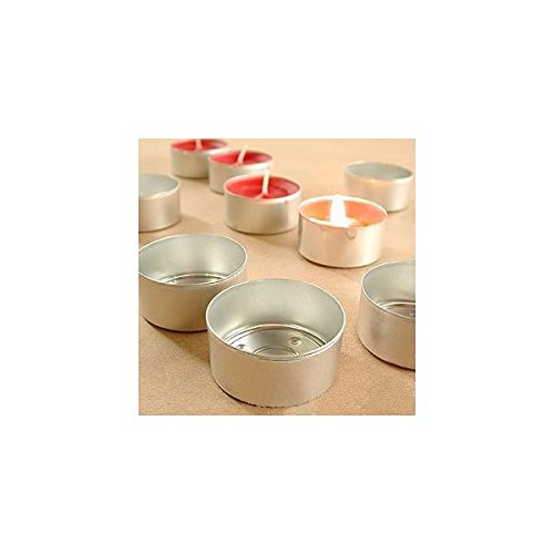 Aluminum Empty Tealight Cups pieces product image