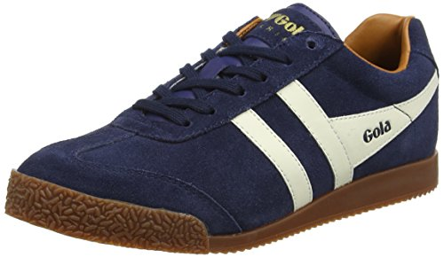 Gola Sport Womens Harrier Navy Suede Navy Suede Trainers 7 US