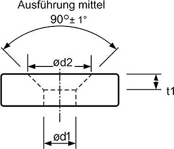/Ø 7,3 mm HSS-E Co5 Kegel DIN 335 C mit 3 Schneiden 74BF M3,5fein und Entgratsenker 90/° mit Zylinderschaft