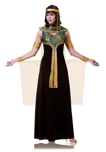 Costume Culture Women's Cleopatra Costume, Black, -