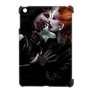 3D Zombie Art Series,iPad Mini Case,Horror Zombie Girl Phone Case For iPad Mini[White]