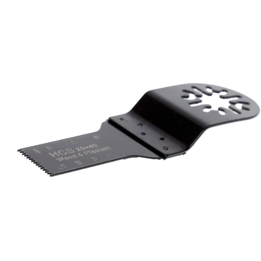 A0127 20 mm HCS E Cut Standard hoja de sierra oscilante Multi Tool para Bosch Fein Dremel