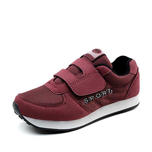 zapatos otoño a pie/Antiguos zapatos de los deportes/viejas zapatillas casuales/Suave antideslizante calzado para señora mayor D