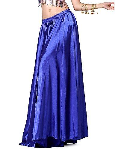 ZY Dancewear falda de danza del vientre de raso para mujer (más ...