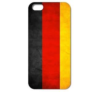 Bondwarehouse Retro bandera nacional de Alemania Cubierta Carcasa Trasera Protectora para iPhone 4 4S