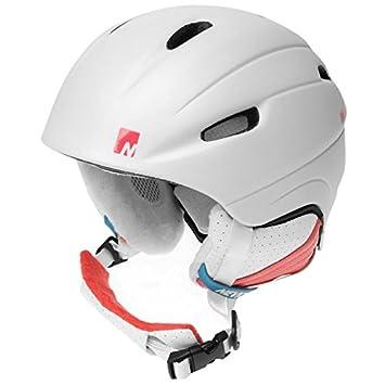 Nevica infantil Vail casco Niñas seguridad protección esquí snowboard accesorios, blanco